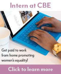 Intern at CBE. Get paid to work from home promoting women's equality! Click to learn more.