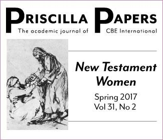 Priscilla Papers Spring 2017 Volume 31 Number 2