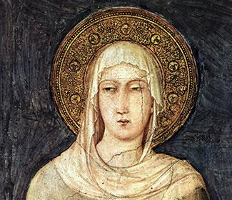 Painting of St. Clare of Assisi