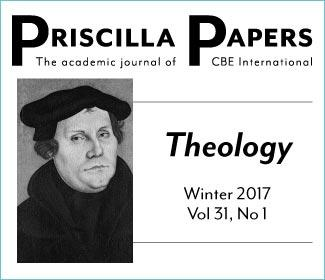 Priscilla Papers Winter 2017 Volume 31 Number 1