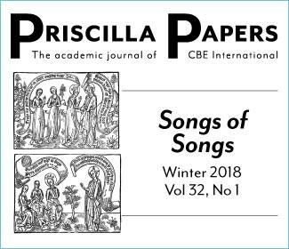 Priscilla Papers Winter 2018 Volume 32, Number 1