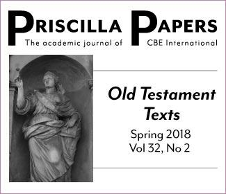 Priscilla Papers Spring 2018 Volume 32, Number 2