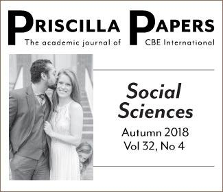 Priscilla Papers Volume 32 Number 4 Autumn 2018