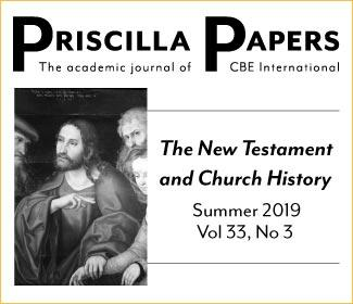 Priscilla Papers, Volume 33, Summer 2019