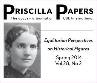 Priscilla Papers Spring 2014 Volume 28 Number 2