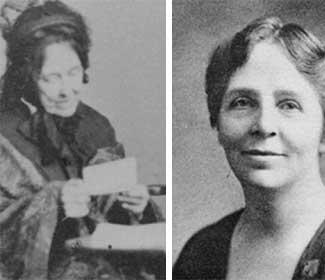 Photos of Julia E. Smith and Helen Barrett Montgomery
