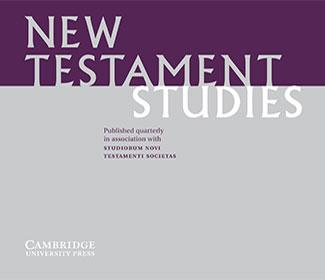 Cover of New Testament Studies