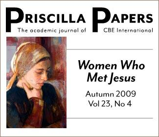 Priscilla Papers Autumn 2009 Volume 23 Number 4