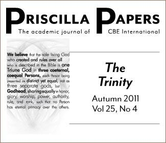 Priscilla Papers Autumn 2011 Volume 25 Number 4