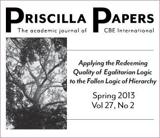 Priscilla Papers Spring 2013 Volume 27 Number 2