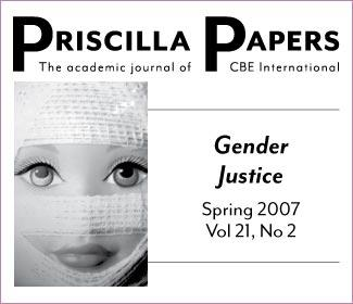Priscilla Papers Spring 2007 Volume 21 Number 2