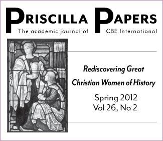 Priscilla Papers Spring 2012 Volume 26 Number2