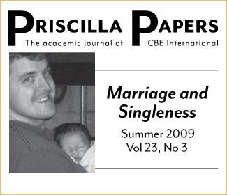 Priscilla Papers Summer 2009 Volume 23 Number 3