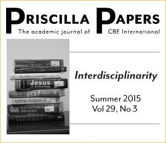 Priscilla Papers Summer 2015 Volume 29 Number 3
