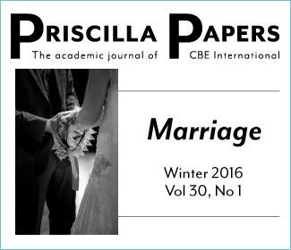 Priscilla Papers Winter 2016 Volume 30 Number 1