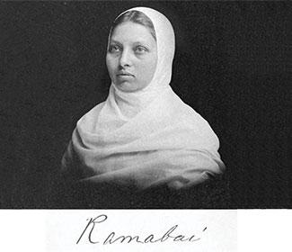 Photo of Pandita Ramabai