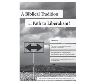 Cover of A Biblical Tradition Is a Path to Liberalism?