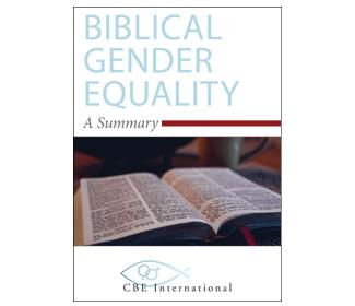 Cover of Biblical Gender Equality A Summary