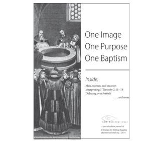 Cover of One Image, One Purpose, One Baptism