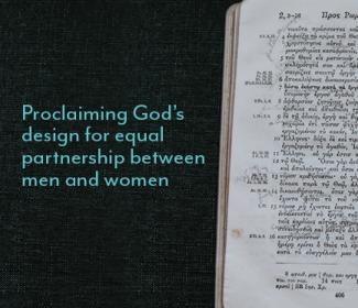 Greek Bible: Proclaiming God's design for equal partnership between men and women