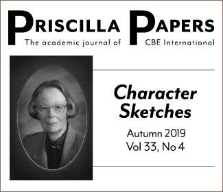 Priscilla Papers Autumn 2019 Volume 33 Issue 4