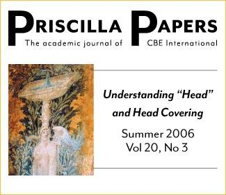 Priscilla Papers Summer 2006 Volume 20 Issue 3