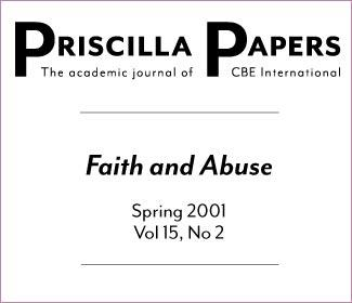 Priscilla Papers Spring 2001 Volume 15 Issue 2
