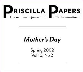 Priscilla Papers Spring 2002 Volume 16 Issue 2