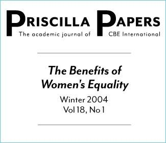 Priscilla Papers Winter 2004 Volume 18 Issue 1