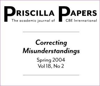 Priscilla Papers Spring 2004 Volume 18 Issue 2