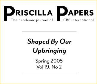 Priscilla Papers Spring 2005 Volume 19 Issue 2