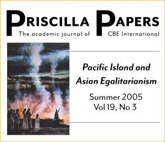 Priscilla Papers Summer 2005 Volume 19 Issue 3