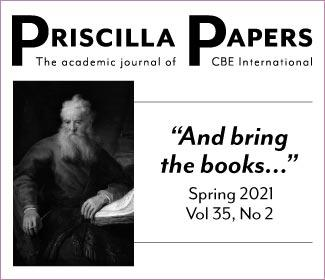 Priscilla Papers Spring 2021 Volume 35 Issue 2