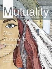 Cover of Autumn 2015 Mutuality magazine titled New Testament Women