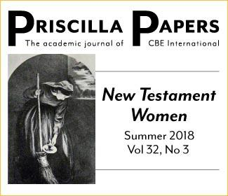 Priscilla Papers Summer 2018 Volume 32 Number 3