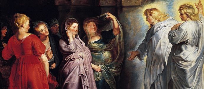 The Three Marys at the Tomb by Peter Paul Rubens