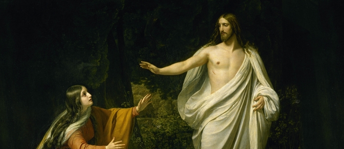 Alexander Ivanov Christ's Appearance to Mary Magdalene after the Resurrection