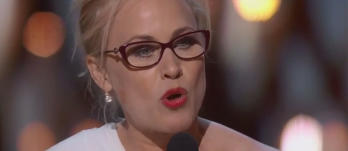Patricia Arquette accepts her Academy Award for Best Supporting Actress