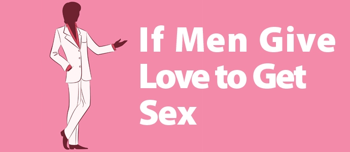 Men who love sex